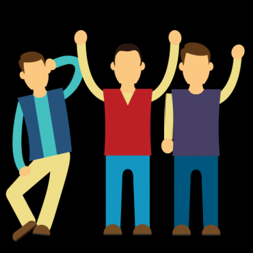 Group-of-friends-standing-with-arms-up.png